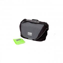 Sacoche Brompton C-Bag 25L avec bloc de fixation et housse de pluie (QCB)