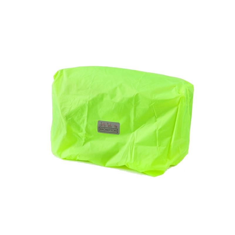 Brompton Housse de pluie jaune fluo pour bagage avant seule (QFCCOV-C)