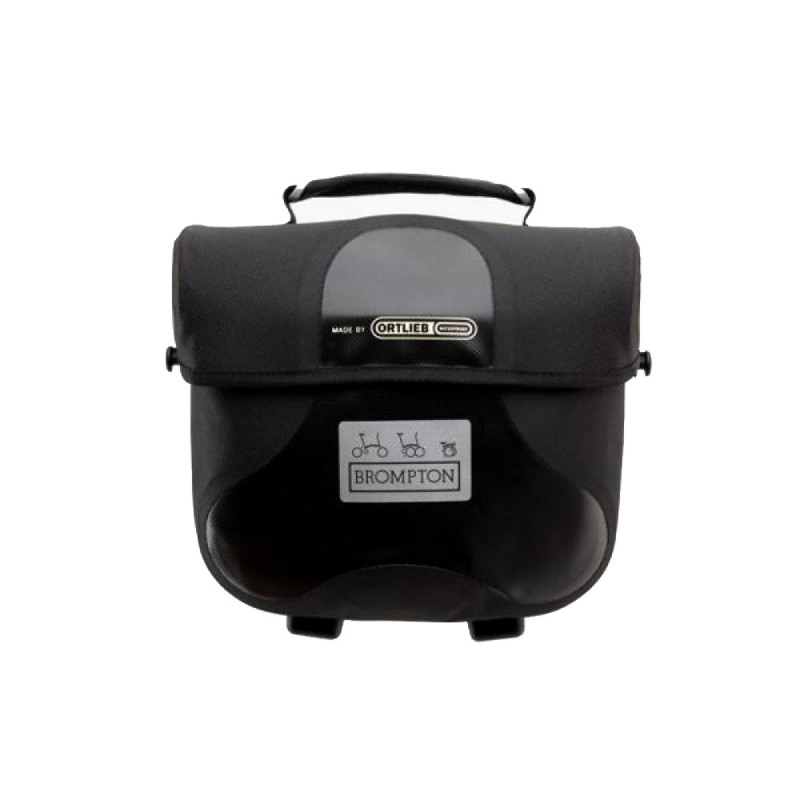 Sacoche Brompton Mini O-Bag 7L Noir bagage avant Ortlieb (QMOB-BK)