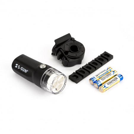 Brompton éclairage LED avant à piles (QVBATFLAM)