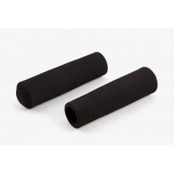 Paire de poignée Brompton en mousse pour guidon M ou H sans colle (QHBGRIP-M-BK)