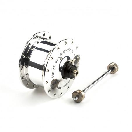 Brompton moyeu de roue avant hub dynamo SON (QHUBFDYN-SON)
