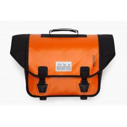 Sacoche Brompton Set O-Bag 20L Noir bagage avant Ortlieb avec bloc de fixation (QOB-OR)