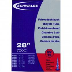 Schwalbe Chambre à air vélo 700 x 18 28C SV15 valve Presta
