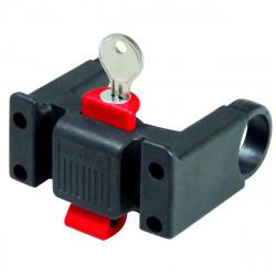 Klickfix Fixation pour cintre avec serrure (22 à 26 mm) (0211L)