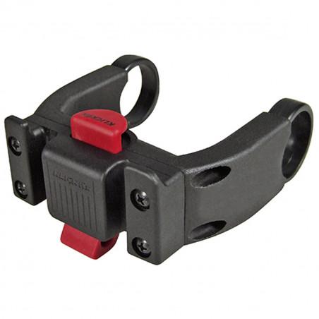 Klickfix Support guidon E (compatible avec les affichages de VAE) 22 à 26 mm + Oversize 31.8 mm (0211EB)