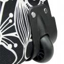 Klickfix Trolley M Fleur noire (0307FS)