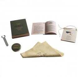 Brooks kit entretien selle kit maintenance (tissu,graisse,clé)