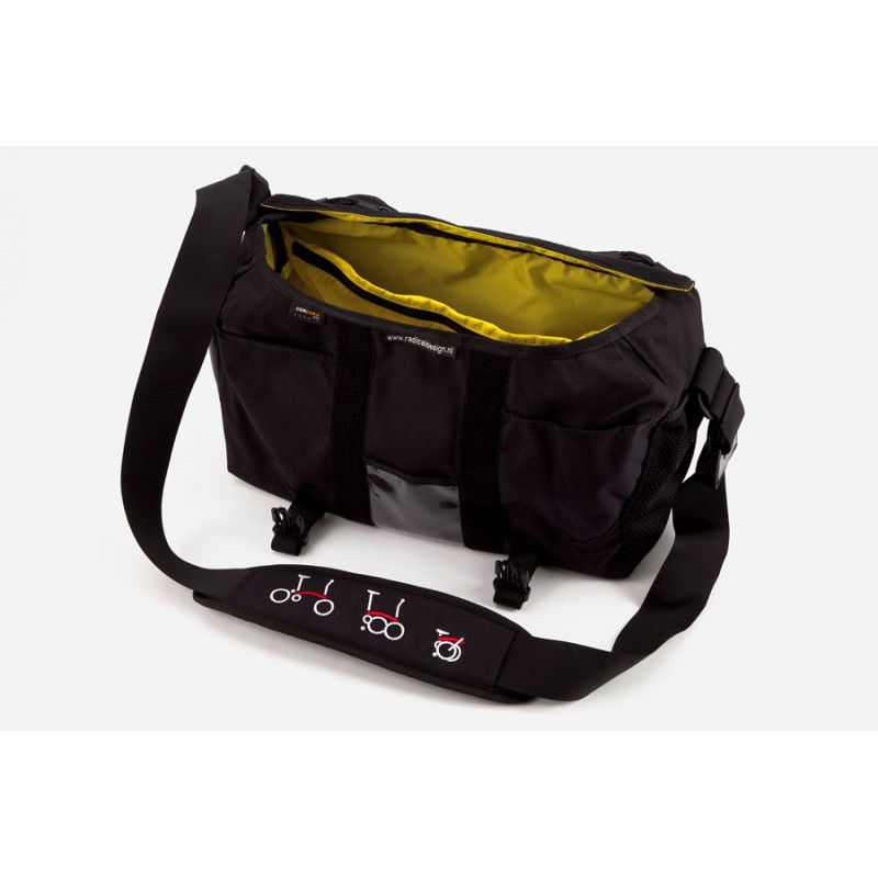 Sacoche Brompton S-Bag 20L seule sans structure ni couverture (QSBAG-NOFLAP)