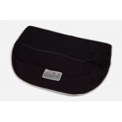 Couverture avant de sacoche Brompton S-Bag 20L standard noire (QSBFLAP1-STD)