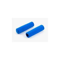 Paire de poignée Brompton en mousse bleu pour guidon M ou H sans colle (QHBGRIP-M-RB)
