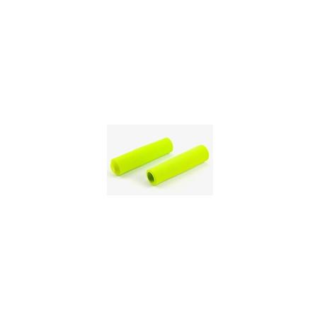 Paire de poignée Brompton en mousse vert citron pour modèle S sans colle (QHBGRIP-S-LG)