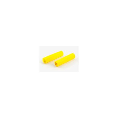 Paire de poignée Brompton en mousse jaune pour modèle S sans colle (QHBGRIP-S-YE)