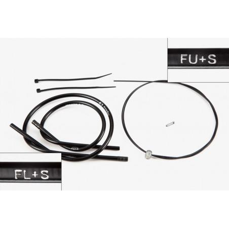 Brompton câble dérailleur pour 3 vitesses modèle M type Sturmey SWB avant 2004 (QGCAB3A-M[1])