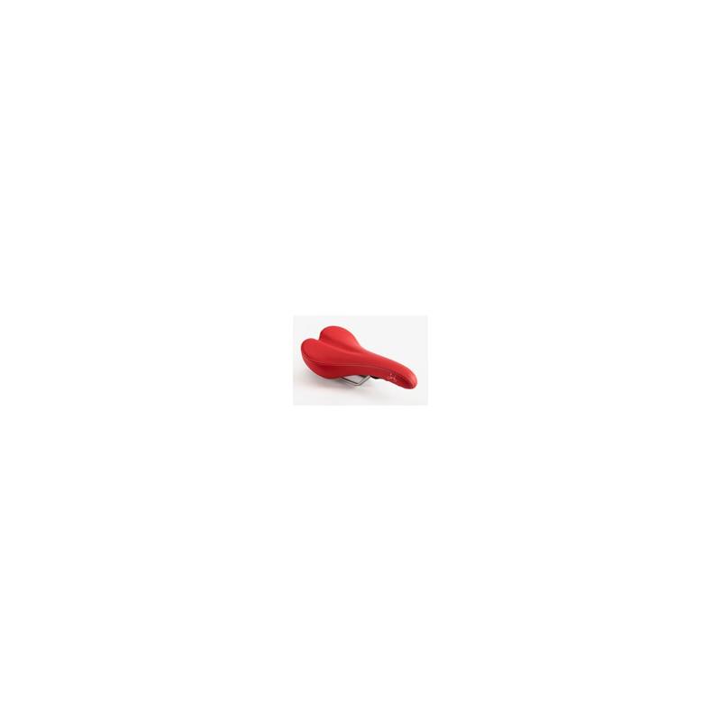 Selle standard Brompton Rouge sans pentaclip (QSADSTD-RD)