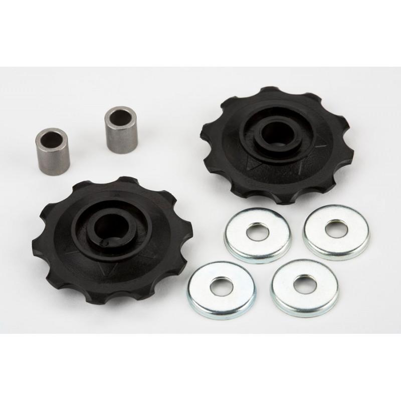 Brompton Roulettes de tendeur de chaîne 3 vitesses vendue par paire (QCTIDL)