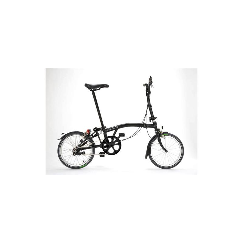Vélo pliant Brompton Full Black Edition M6L