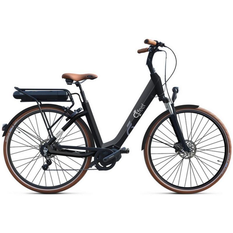 Vélo électrique O2Feel Swan Deore Noir