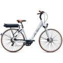 Vélo électrique O2Feel Swan Deore Blanc