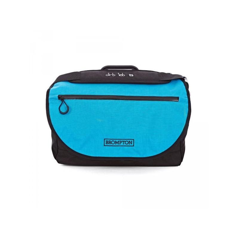 Sac Brompton S-Bag avec couverture Bleu lagon 2016 (QSB-LB)