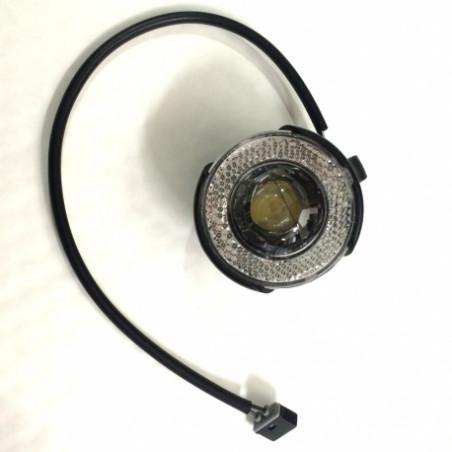 Brompton Eclairage avant dynamo LED pour Shimano et fixation (QVDYNFLAMLEDKIT-SHMNO)