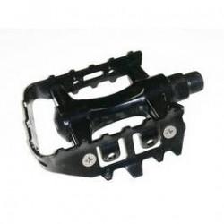 Maxxus pédales VTT plastique/acier 9/16' (2 pièces)