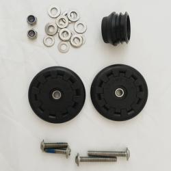 Brompton Kit Easy wheel pour L avec bouchon de selle (QEZWSET-NR)