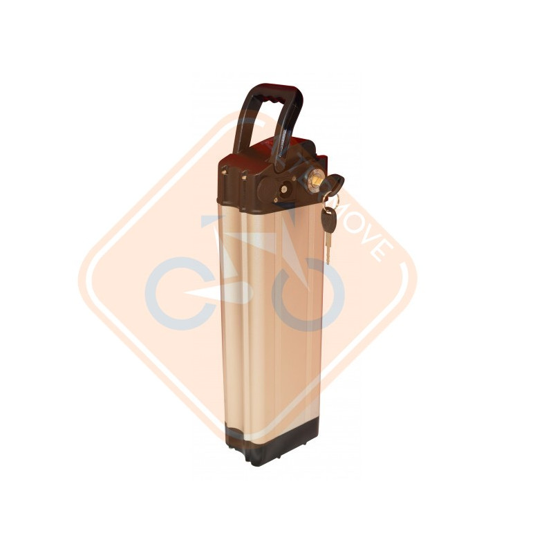 Batterie Vélo électrique Universelle City 1000 2 Pin 36V 10Ah