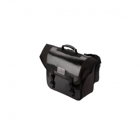 Sacoche Brompton Set O-Bag 20L Noir bagage avant Ortlieb avec bloc de fixation (QOB-BK)