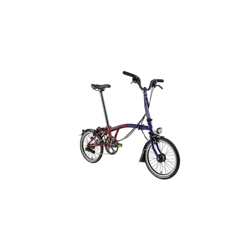 Vélo pliant BROMPTON M6L Nine Streets Edition