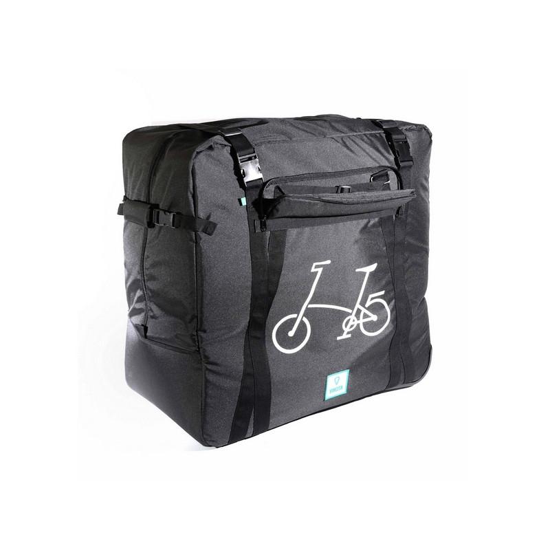 1a44feb5b569 Sac de transport VINCITA 2 roulettes pour vélo pliant Brompton