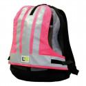 L2S Couvre sac sécurité visiobag rose