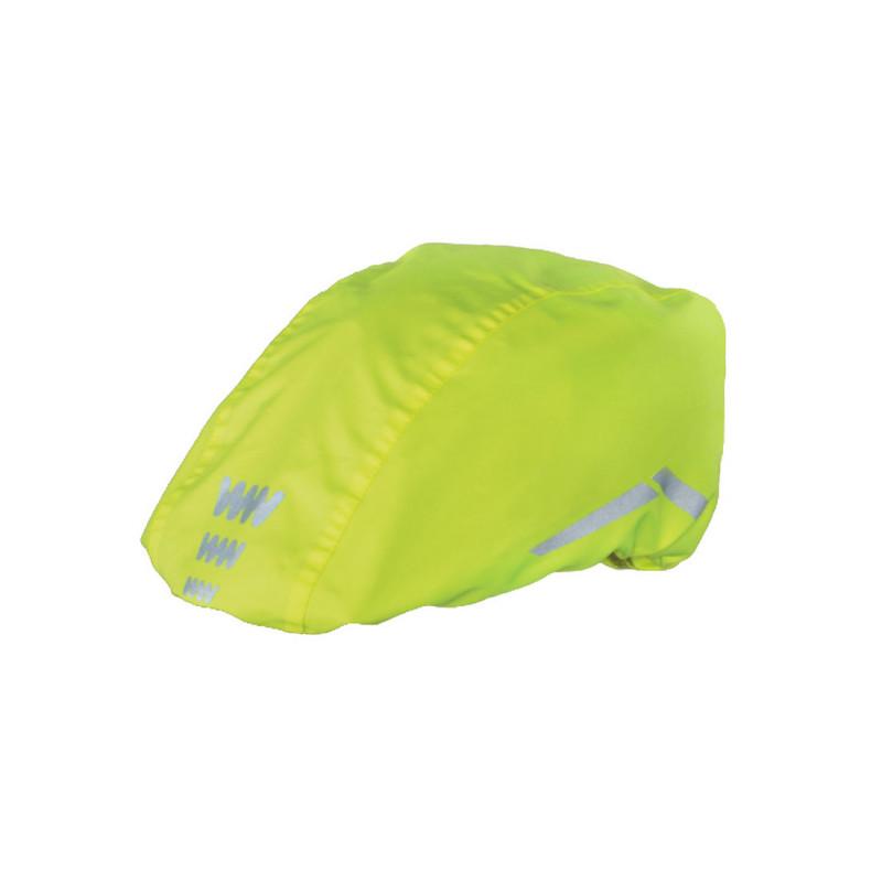 Housse de pluie pour casque de vélo jaune WOWOW