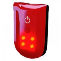Support magnétique lumineux rouge avec LED rouge WOWOW