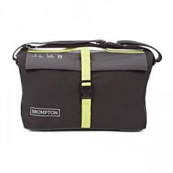 50ba7ec21ee0 Sac Brompton Roll Top Bag Grey Black Limegreen (QRTB-GY)