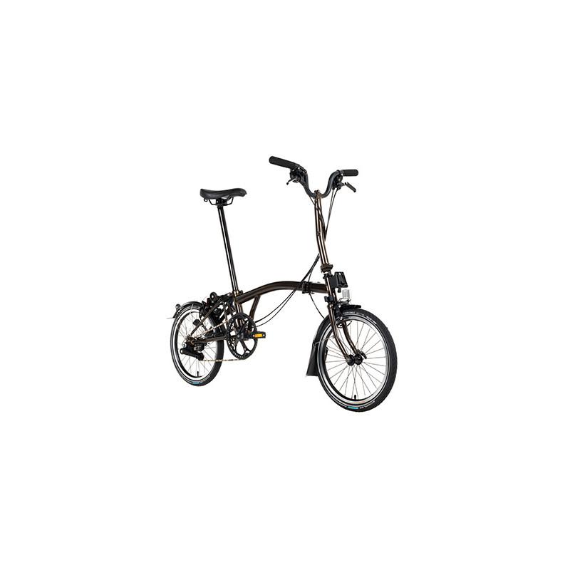 Vélo pliant BROMPTON Full Black Edition M6L lacqué