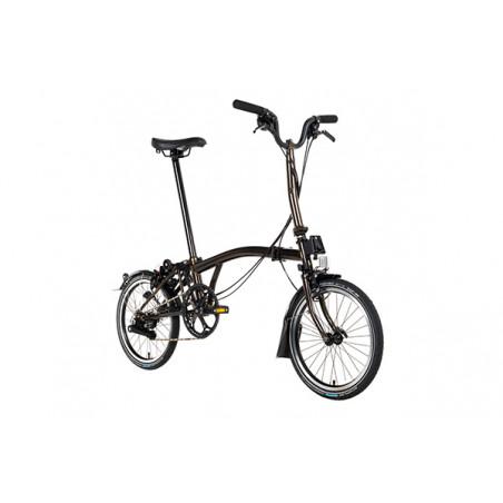 Vélo pliant BROMPTON M6L Full Black Edition M6L lacqué