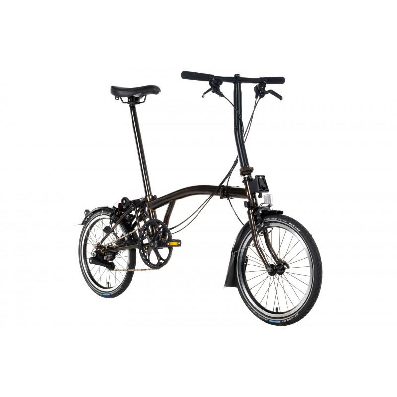 Vélo pliant BROMPTON S6L BLACK EDITION LACQUE