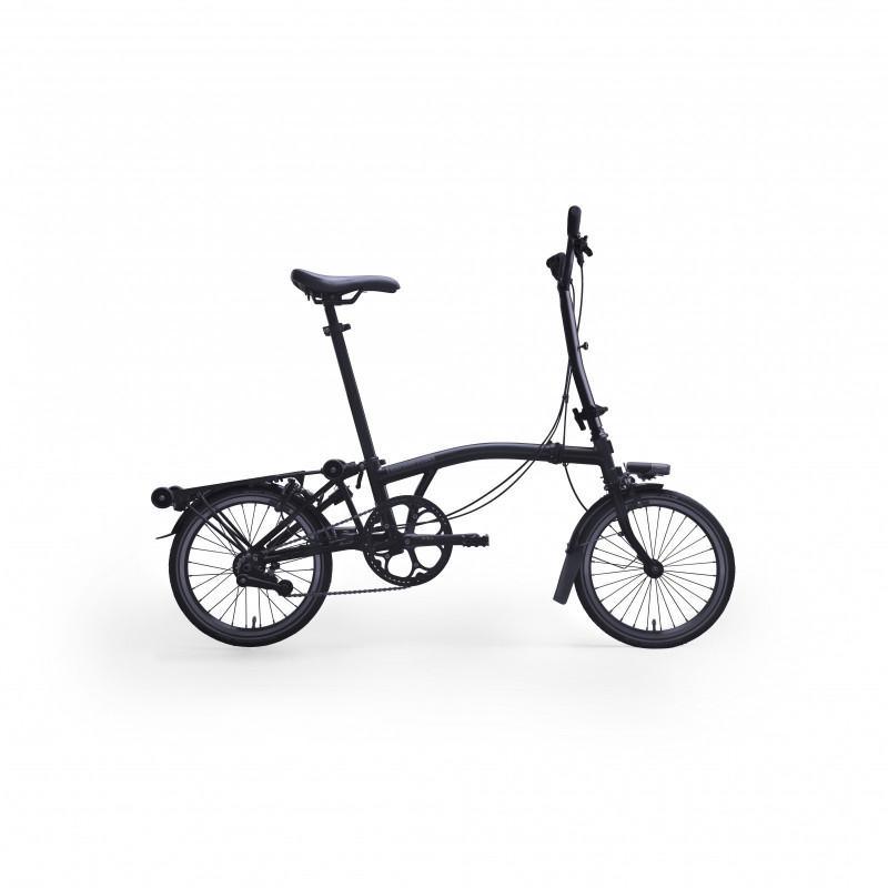 Vélo pliant BROMPTON Full Black Edition M6R