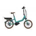 Vélo électrique pliant O2FEEL Swan Fold Di2 2019