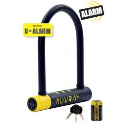 Antivol vélo U AUVRAY U Alarm 128x245