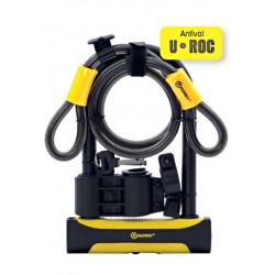Antivol vélo U AUVRAY U ROC 180x245 ART + Câble