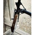 Garde-boue en bois pour vélo BROMPTON