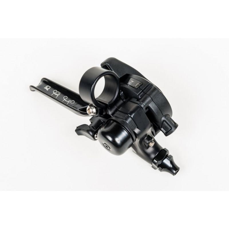 Brompton levier de vitesse de moyeu avec levier de frein intégré RHS - 3 vitesses (noir) (2017 - )