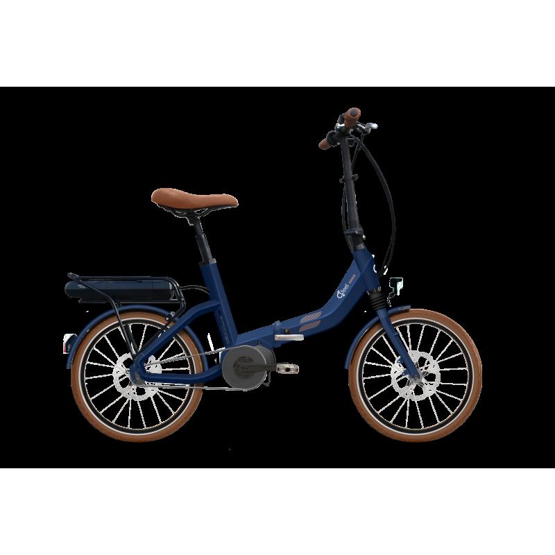 Vélo électrique pliant O2FEEL Swan Fold Alfine Di2 - 2018