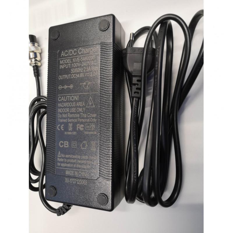 Chargeur 54.6V 2.0A trottinette électrique SPEEDTROTT ST14
