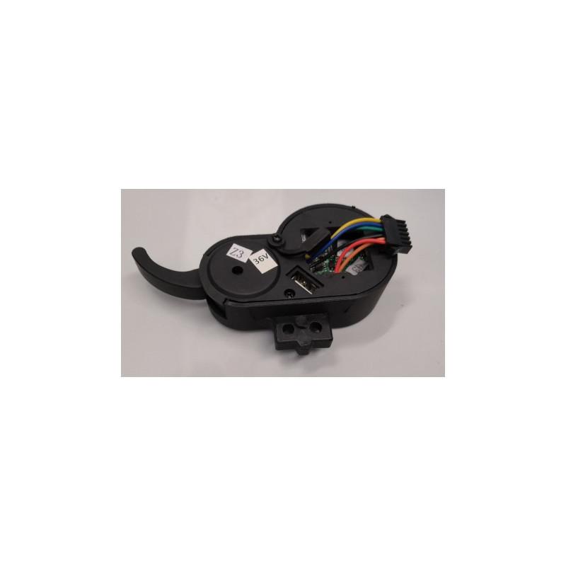 Compteur bleu Z3 36V 6 fils trottinette électrique SPEEDTROTT ST12
