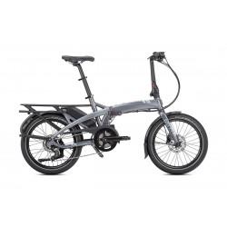 Vélo électrique pliant - TERN - Vektron P7i - 2019 - Gris/Bleu - Taille Unique - 400 Wh