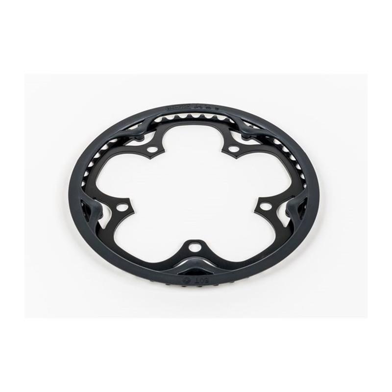 Brompton couronne & disque protège chaine Spider 50T (noir) (QCHRINGA-SPI-50-BK)