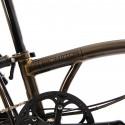 Vélo pliant BROMPTON Black Edition M6L Laqué noir/Laqué noir